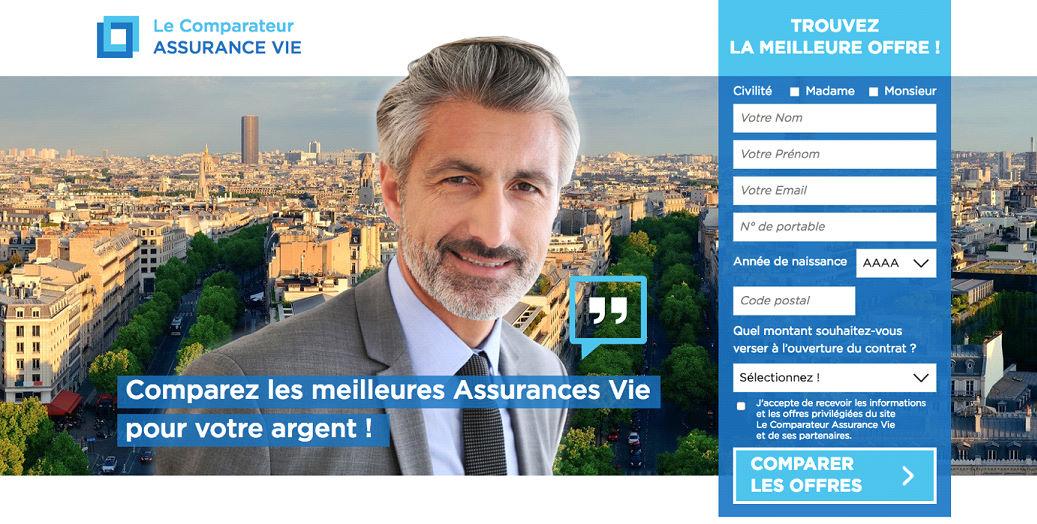 landing page assurance vie